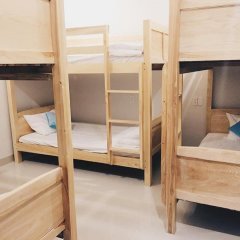 Отель The Highland House 2* Кровать в мужском общем номере с двухъярусной кроватью фото 2