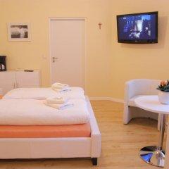 Отель City Guesthouse Pension Berlin 3* Семейный люкс с разными типами кроватей фото 4