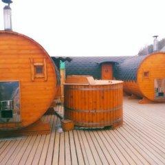 Гостиница Уральский Теремок Коттедж с различными типами кроватей фото 8