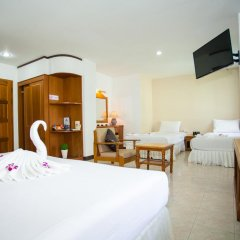 Отель Baan Paradise 2* Стандартный семейный номер с двуспальной кроватью фото 6