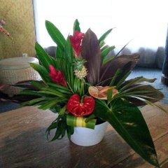 Отель Hibiscus Французская Полинезия, Муреа - отзывы, цены и фото номеров - забронировать отель Hibiscus онлайн интерьер отеля фото 2