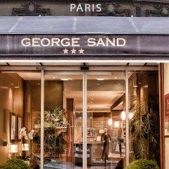 Отель George Sand Франция, Париж - отзывы, цены и фото номеров - забронировать отель George Sand онлайн вид на фасад