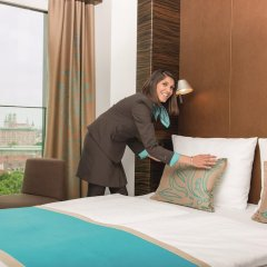 Отель Motel One Nürnberg-City 3* Стандартный номер с различными типами кроватей фото 5