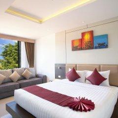Отель Paripas Patong Resort 4* Стандартный семейный номер с разными типами кроватей фото 10
