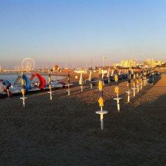 Hotel Villa Maris Римини пляж