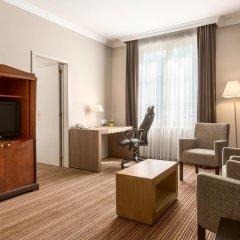 Отель NH Brussels Carrefour de l'Europe 4* Люкс с различными типами кроватей
