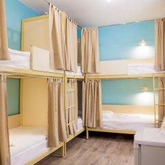 Хостел Евразия Кровать в общем номере с двухъярусной кроватью фото 3