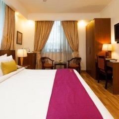 Goodwill Hotel Delhi 3* Номер Делюкс с различными типами кроватей фото 4