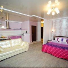 Апартаменты на Луговой 67/69 Студия с различными типами кроватей фото 16