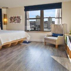 Arthouse Hotel New York City 4* Номер Делюкс с различными типами кроватей фото 5