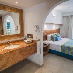 Отель Beachscape Kin Ha Villas & Suites Мексика, Канкун - 2 отзыва об отеле, цены и фото номеров - забронировать отель Beachscape Kin Ha Villas & Suites онлайн ванная