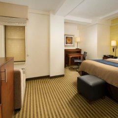 Отель Comfort Inn Downtown DC/Convention Center 2* Стандартный номер с различными типами кроватей фото 3