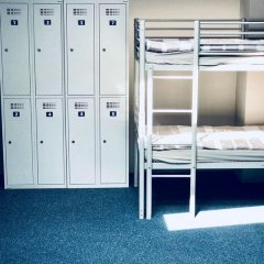 Отель Stacja Plaża Кровать в общем номере с двухъярусной кроватью фото 7