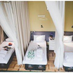 Hostel Jamaika Кровать в общем номере с двухъярусной кроватью фото 6