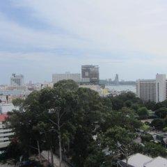 Отель Centric Sea Pattaya Апартаменты с различными типами кроватей фото 30