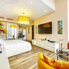 Апартаменты Sky Apartments Rentals Service Студия Делюкс с различными типами кроватей фото 4
