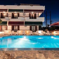 Отель Yianna Hotel Греция, Агистри - отзывы, цены и фото номеров - забронировать отель Yianna Hotel онлайн бассейн фото 3