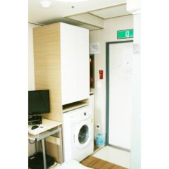 Отель Patio 59 Hongdae Guesthouse 2* Номер категории Эконом с двуспальной кроватью