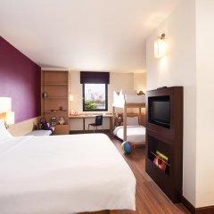 Отель Ibis Bangkok Riverside 3* Стандартный семейный номер с двуспальной кроватью фото 4