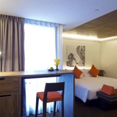 Отель U Sukhumvit Bangkok 4* Семейный номер Делюкс с двуспальной кроватью фото 12