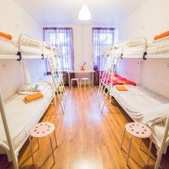 Хостел Online Кровать в общем номере с двухъярусной кроватью фото 16