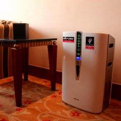 Отель Swissotel Beijing Hong Kong Macau Center Представительский люкс с различными типами кроватей фото 3