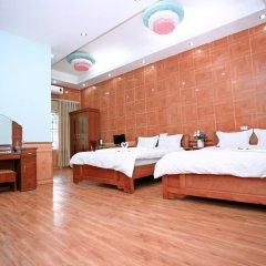 Avi Airport Hotel 2* Стандартный семейный номер с двуспальной кроватью фото 3