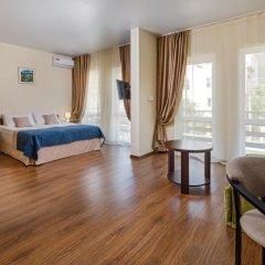 Мини-Отель Роза Люкс с различными типами кроватей