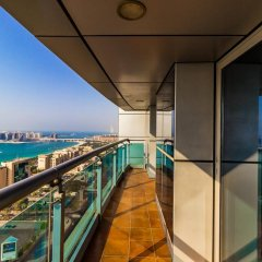 Отель Yanjoon Holiday Homes - Princess Tower балкон