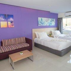 Отель Glow Central Pattaya Номер Делюкс фото 3