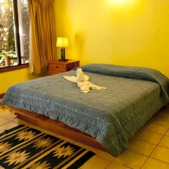 Hotel Jaguar Inn Tikal 3* Бунгало с различными типами кроватей фото 20