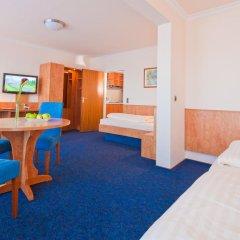 Apartment-Hotel Hamburg Mitte 3* Стандартный семейный номер разные типы кроватей фото 10