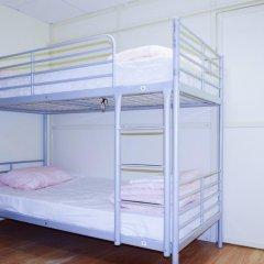 Хостел Moscow Friends Кровать в общем номере с двухъярусной кроватью фото 15