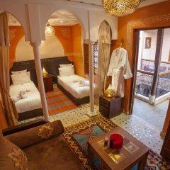 Отель Dar Ikalimo Marrakech 3* Улучшенный номер с различными типами кроватей фото 5