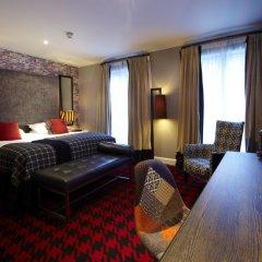 Отель Malmaison Glasgow 4* Стандартный номер фото 10