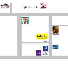 Отель Infinity Guesthouse парковка