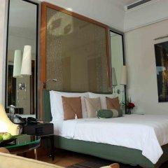 Отель Trident, Gurgaon 5* Представительский люкс с различными типами кроватей фото 2