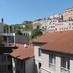 Отель Loft Saint Vincent Франция, Лион - отзывы, цены и фото номеров - забронировать отель Loft Saint Vincent онлайн балкон