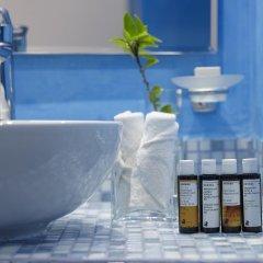 Отель Santorini Kastelli Resort 5* Улучшенный номер с различными типами кроватей фото 3