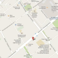 Апартаменты Apartments Minsk спортивное сооружение