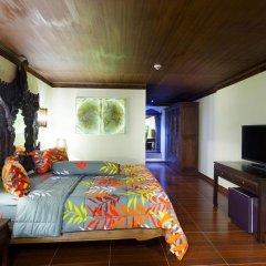Отель Tropica Bungalow Resort 3* Семейный номер Делюкс с двуспальной кроватью фото 14