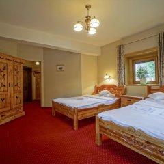 Отель Pensjonat Zakopianski Dwór 3* Стандартный номер с различными типами кроватей фото 5