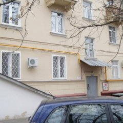 Апартаменты Люкскампани Апартаменты на Ленинском Проспекте балкон