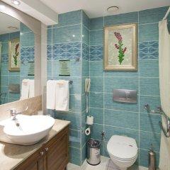Side Star Resort Турция, Сиде - отзывы, цены и фото номеров - забронировать отель Side Star Resort онлайн ванная