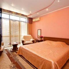 Гостиница Тис Стандартный номер двуспальная кровать фото 14