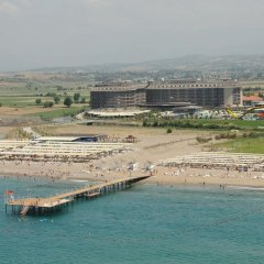Sunmelia Beach Resort Hotel & Spa - All Inclusive пляж фото 4