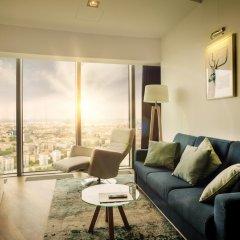 Отель Apartamenty Sky Tower Улучшенные апартаменты с различными типами кроватей фото 5