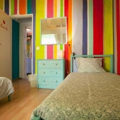 Отель Ericeira Surf Camp 2* Кровать в общем номере двухъярусные кровати фото 13
