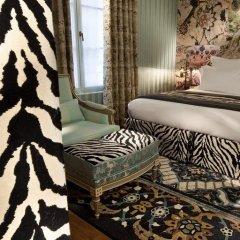 Отель Hôtel du Petit Moulin 4* Номер Делюкс с различными типами кроватей фото 21
