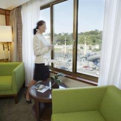 Отель Intercontinental Prague 5* Номер Делюкс фото 8